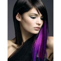 Clip in pramínek – REMY 100% lidské vlasy – fialová